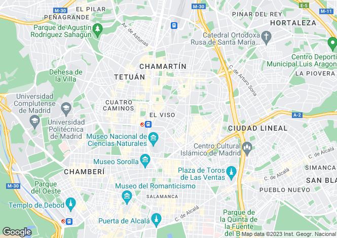 Map for Spain - Madrid, Madrid, Madrid