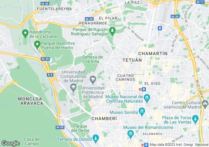 Map for Valencia, Alicante, Entrenaranjos