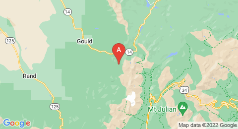 map of Seven Utes Mountain (United States of America)