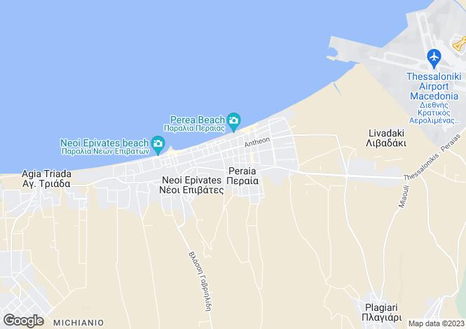 Map for Central Macedonia, Thessaloniki, Neoi Epivates