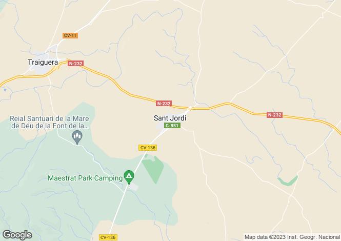 Map for Sant Jordi, Castellón de la Plana, Valencia