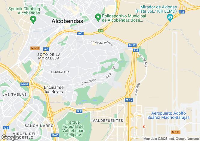 Map for Spain - Madrid, Madrid, Alcobendas