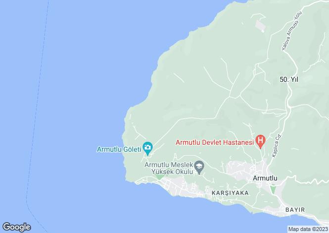 Map for Armutlu, Yalova, Yalova