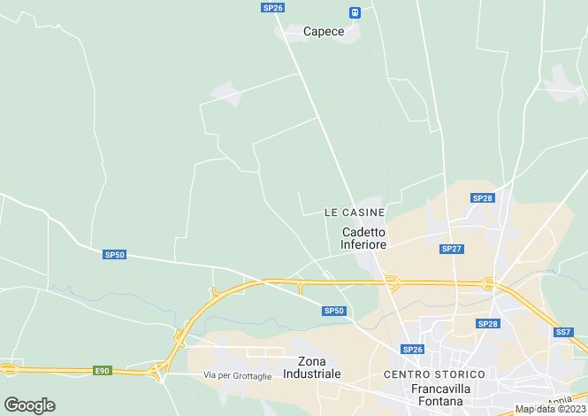 Map for Villa Annette, Francavilla, Puglia, EP16-08