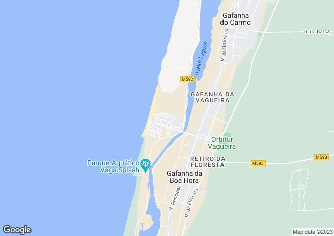 Map for Aveiro, Gafanha da Boa Hora