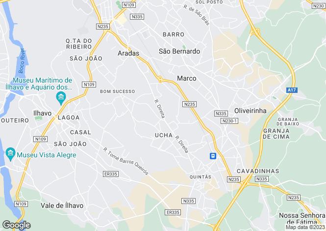 Map for Aveiro, Arada