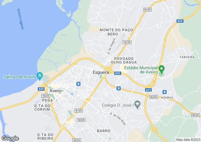 Map for Esgueira, Aveiro, Aveiro