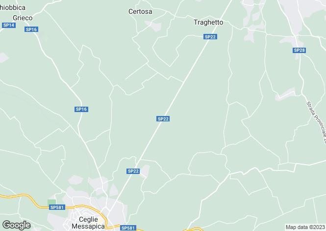 Map for Via Papa Giovanni XXIII, Ostuni, Apulia