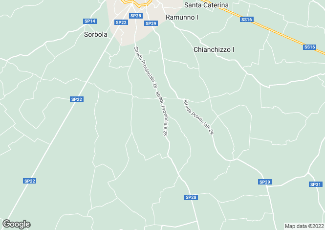 Map for Strada Provinciale 28, Ostuni, Apulia