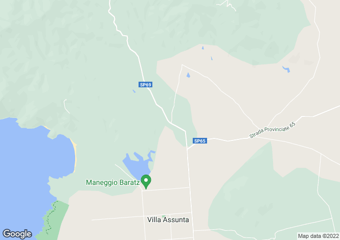 Map for Alghero, Sassari, Sardinia