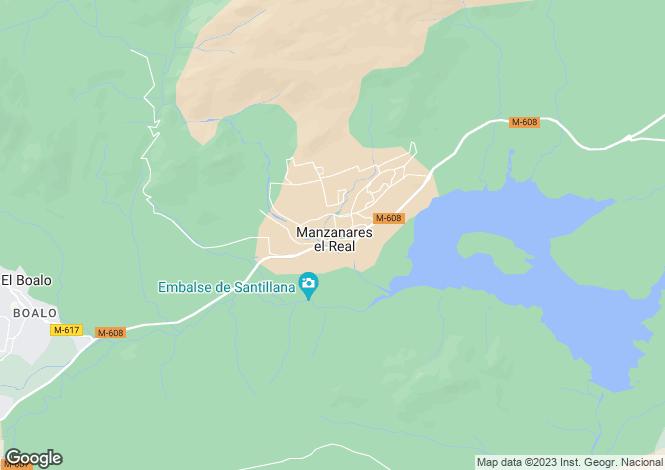 Map for Manzanares el Real, Madrid, Madrid