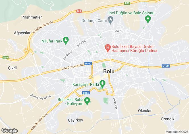 Map for Bolu, Bolu, Bolu