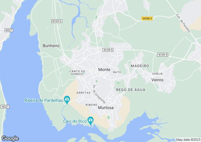 Map for Monte, Murtosa, Aveiro