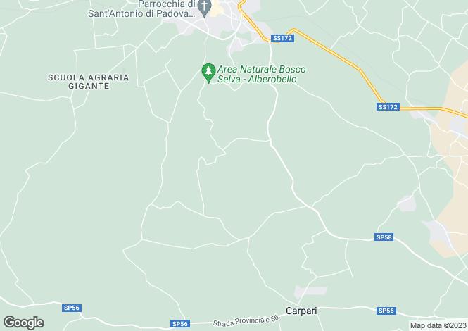 Map for Martina Franca, Taranto, Apulia