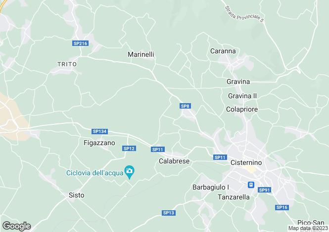 Map for Apulia, Brindisi, Cisternino