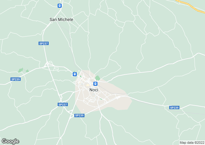 Map for Noci, Bari, Apulia