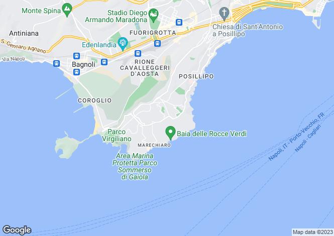 Map for Campania, Naples, Naples