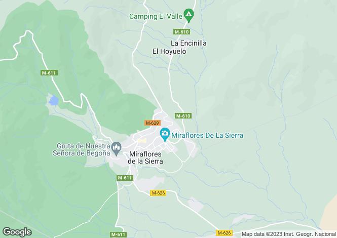 Map for Miraflores de la Sierra, Madrid, Madrid