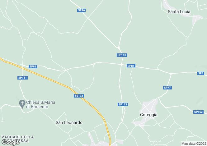 Map for Alberobello, Bari, Apulia