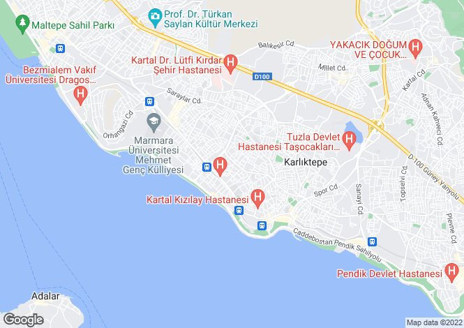 Map for Istanbul, Kartal, Kartal