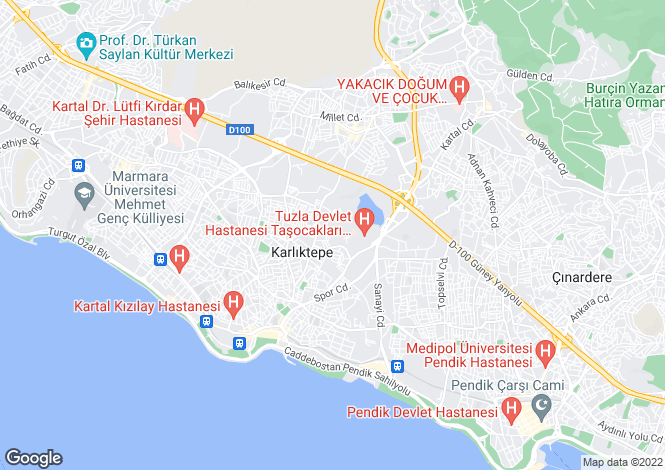 Map for Kartal, Kartal, Istanbul