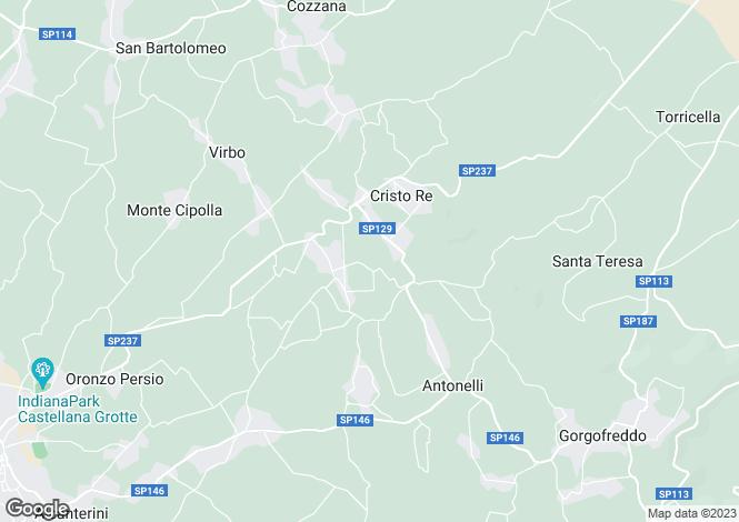 Map for Monopoli, Bari, Apulia