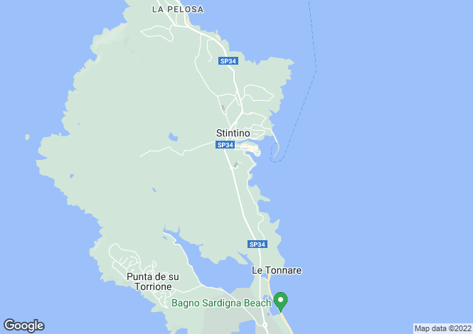 Map for Stintino, 07040, Italy
