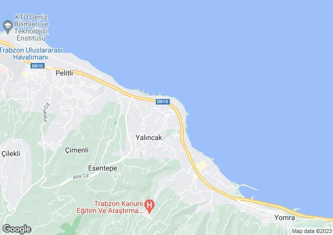 Map for Trabzon, Trabzon
