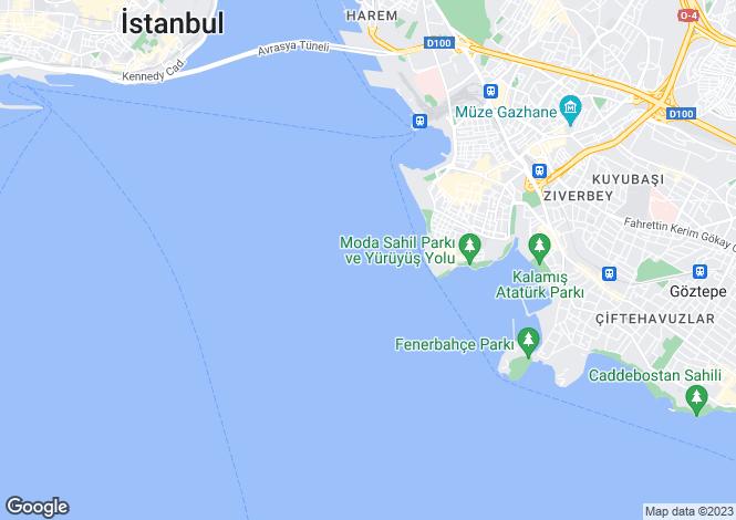 Map for Kadiköy, Kadiköy, Istanbul