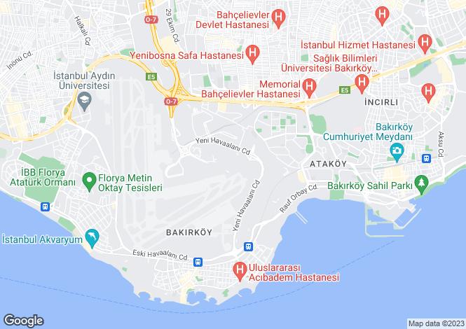 Map for Istanbul,Marmara,Turkey