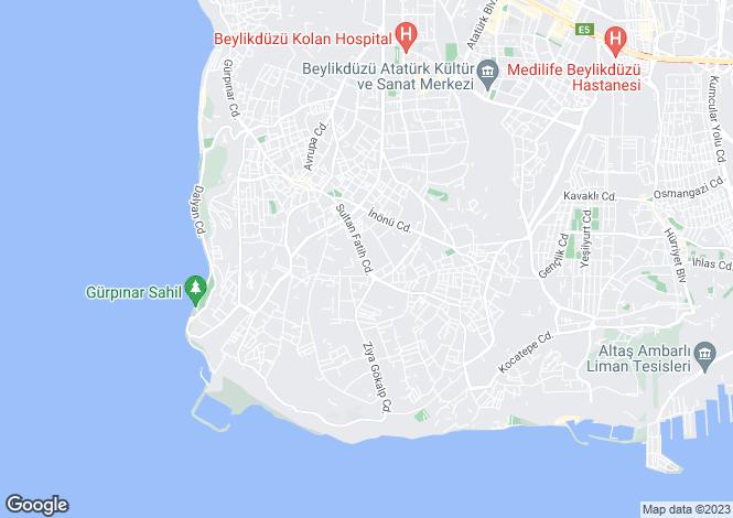 Map for Beylikduzu, Istanbul