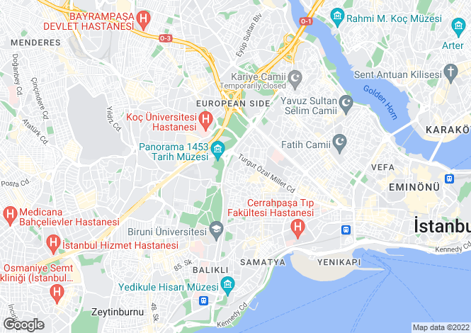 Map for Fatih, Fatih, Istanbul