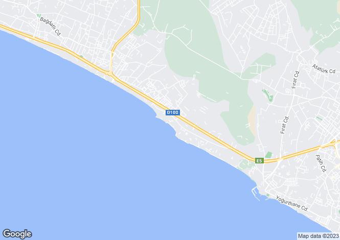 Map for Büyükçekmece, Büyükçekmece, Istanbul