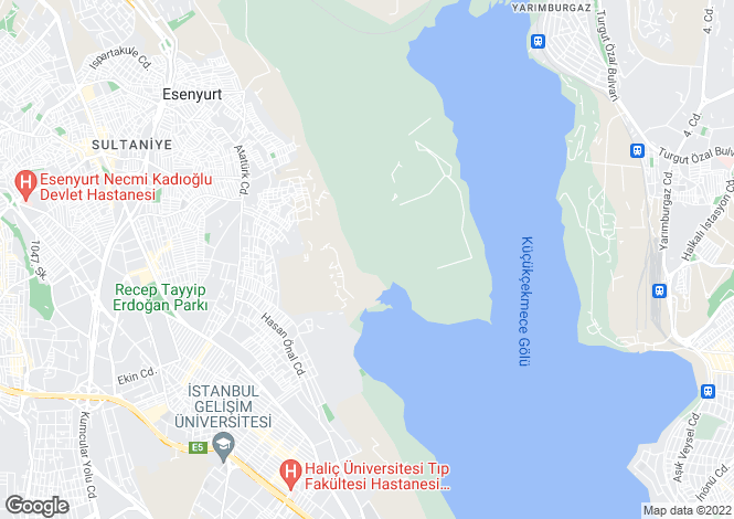Map for Avcilar, Istanbul