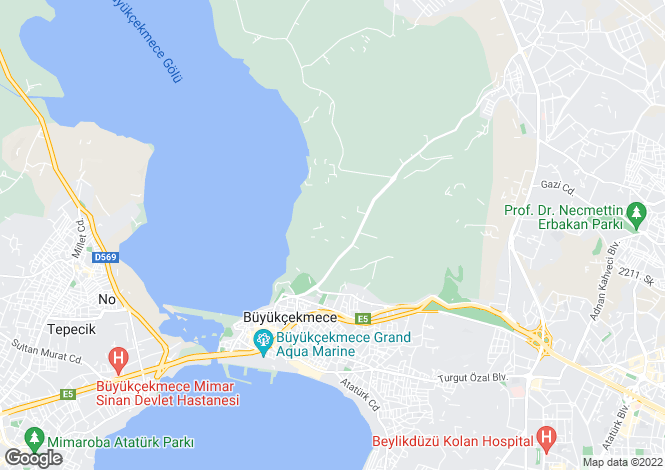Map for Istanbul,Marmara,Turkey