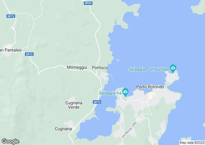 Map for Olbia, Olbia-tempio, Sardinia