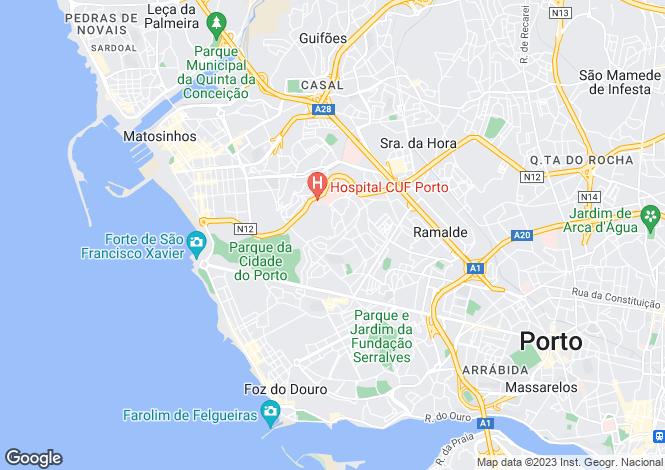 Map for Aldoar, Foz do Douro e Nevogilde, Porto, Porto