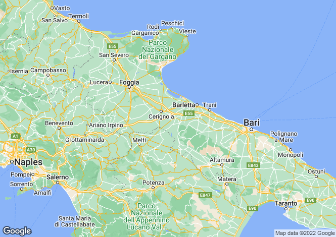 Map for Avetrana, 74020, Italy