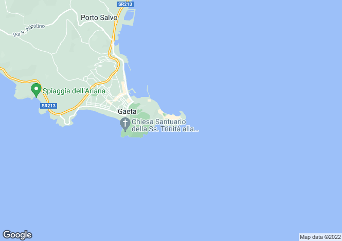 Map for Via Aragonese, Gaeta, 04024, Italy