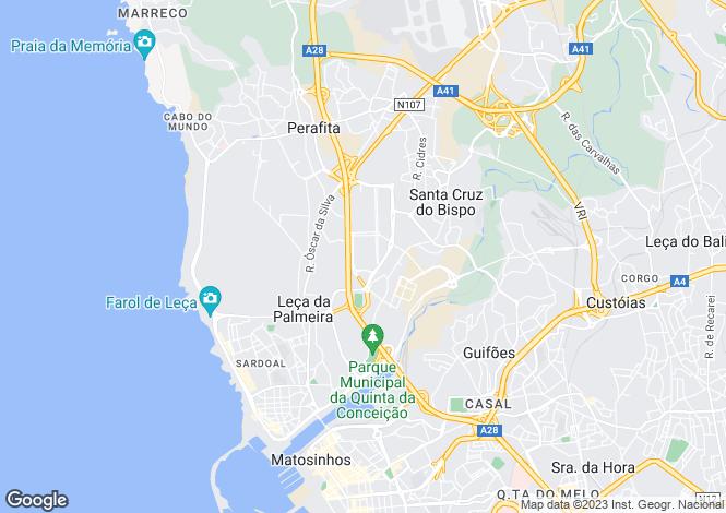 Map for Leca Da Palmeira,Portugal