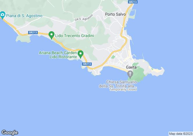 Map for Via Maresca, Gaeta, 04024, Italy