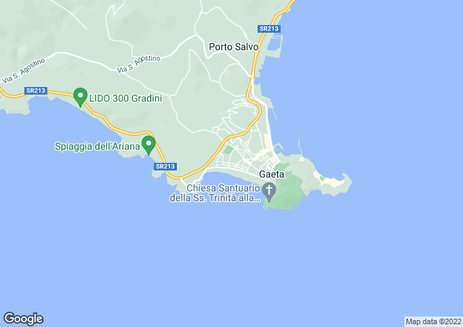 Map for Via San Nilo, Gaeta, 04024, Italy