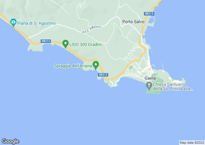 Map for Via Flacca, Gaeta, 04024, Italy