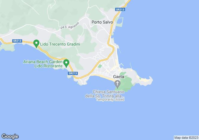 Map for Via Messina, Gaeta, 04024, Italy