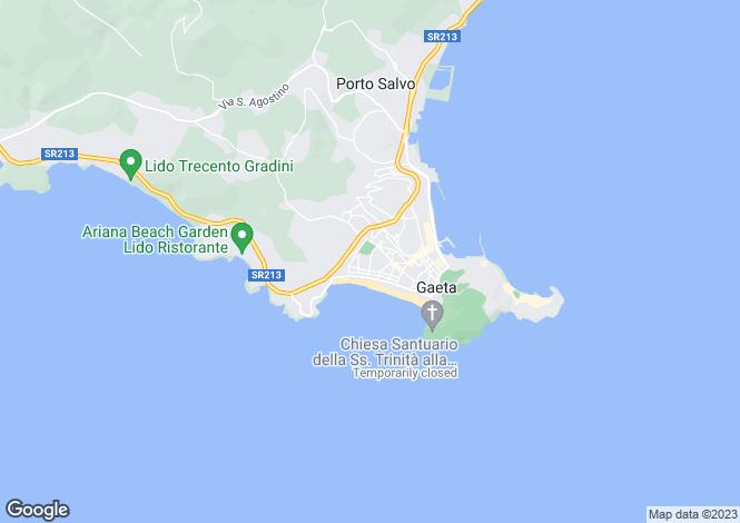 Map for Via Bologna, Gaeta, 04024, Italy