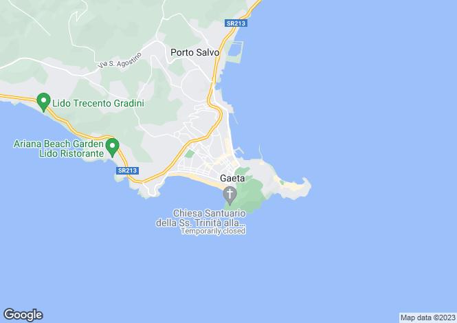 Map for Via Piave, Gaeta, 04024, Italy