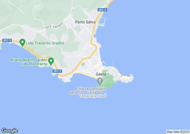 Map for Via Mazzini, Gaeta, 04024, Italy