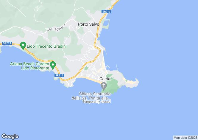 Map for Corso Cavour, Gaeta, 04024, Italy