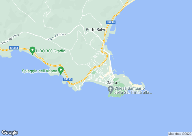 Map for Via Dei Gelsomini, Gaeta, 04024, Italy