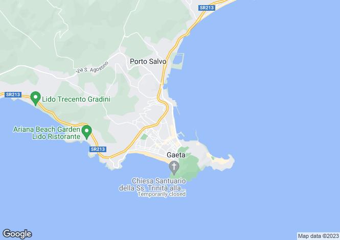 Map for Via Indipendenza, Gaeta, 04024, Italy